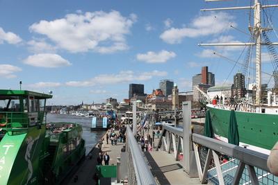 El puerto de Hamburgo