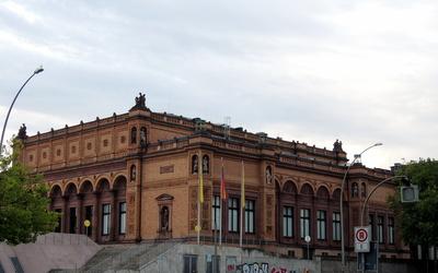 la plaza de arte de Hamburgo