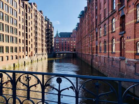 Barrio de almacenamiento en Hamburgo
