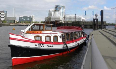 """Nuestro barco privado Tanja """"nació"""" en 1936."""